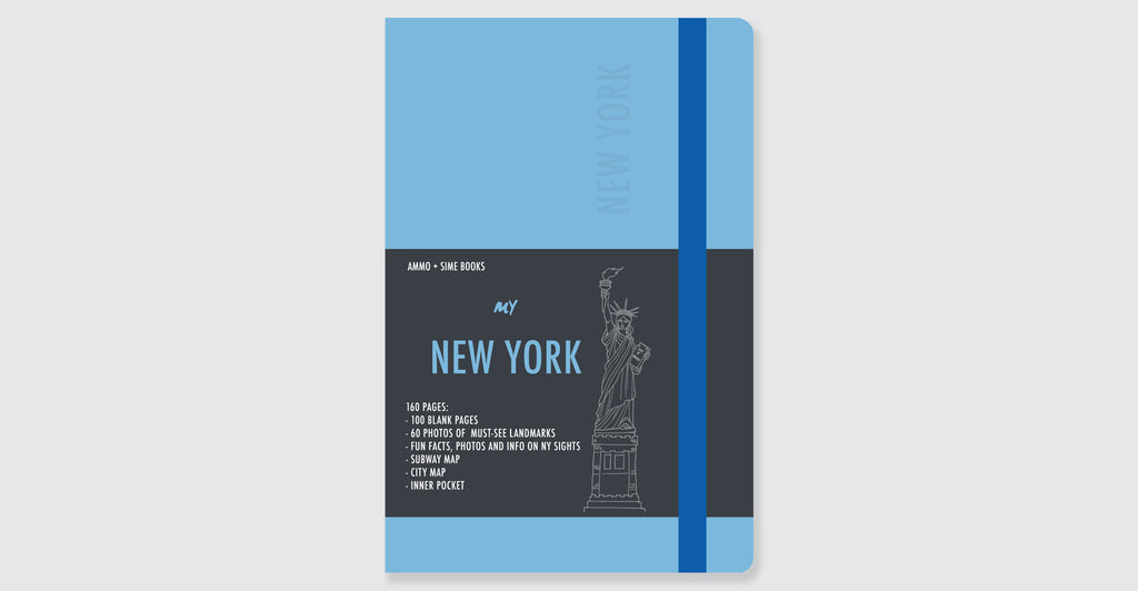 New York Visual Notebooks: Spread #13