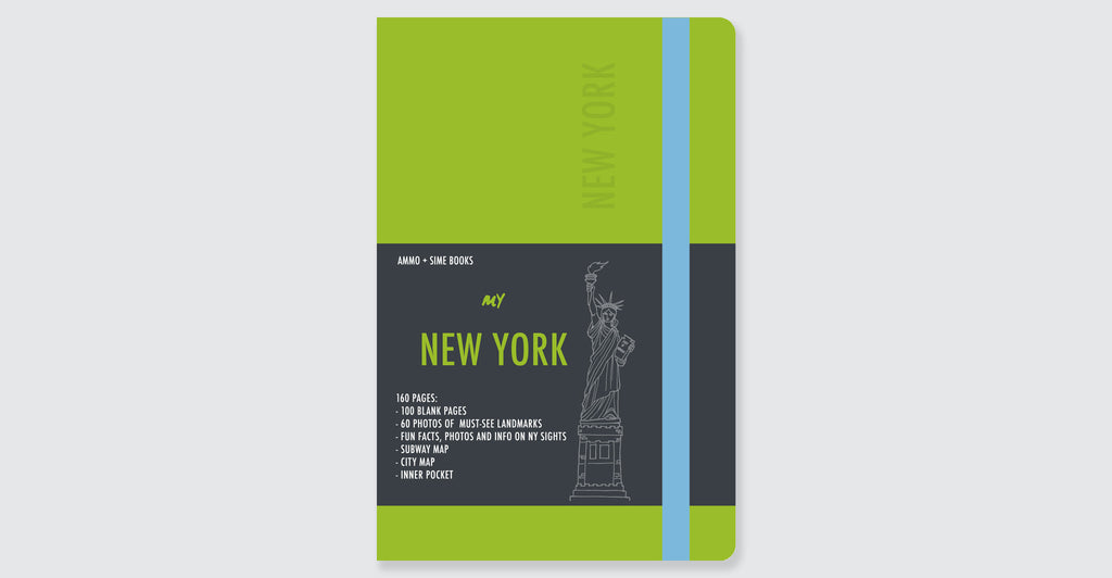 New York Visual Notebooks: Spread #12