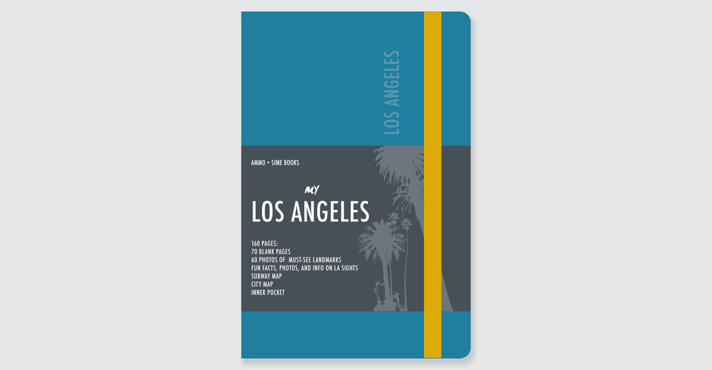 Los Angeles Visual Notebooks: Spread #11