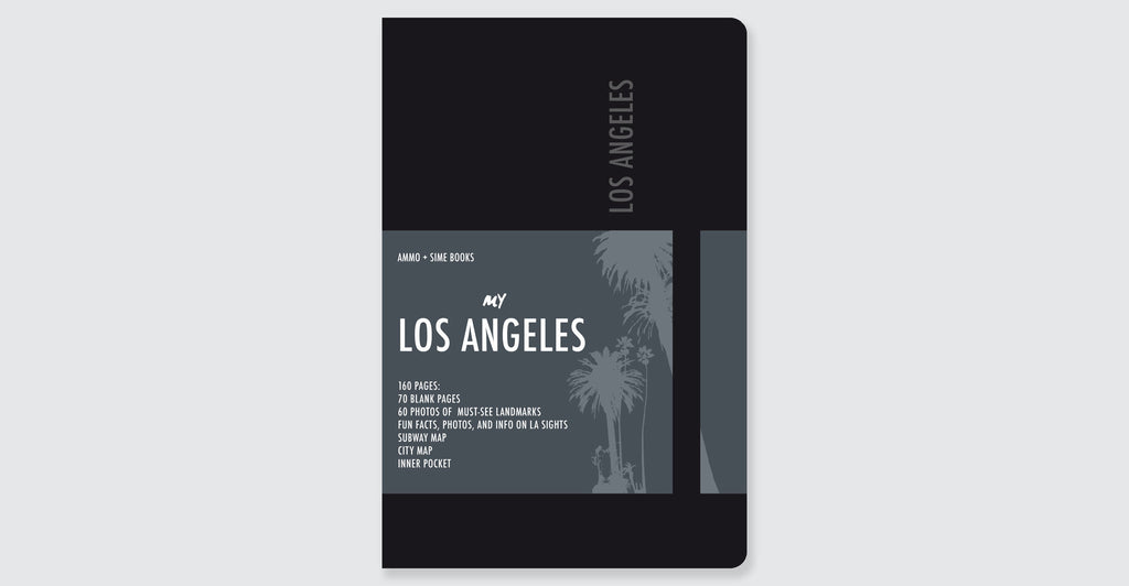Los Angeles Visual Notebooks: Spread #9