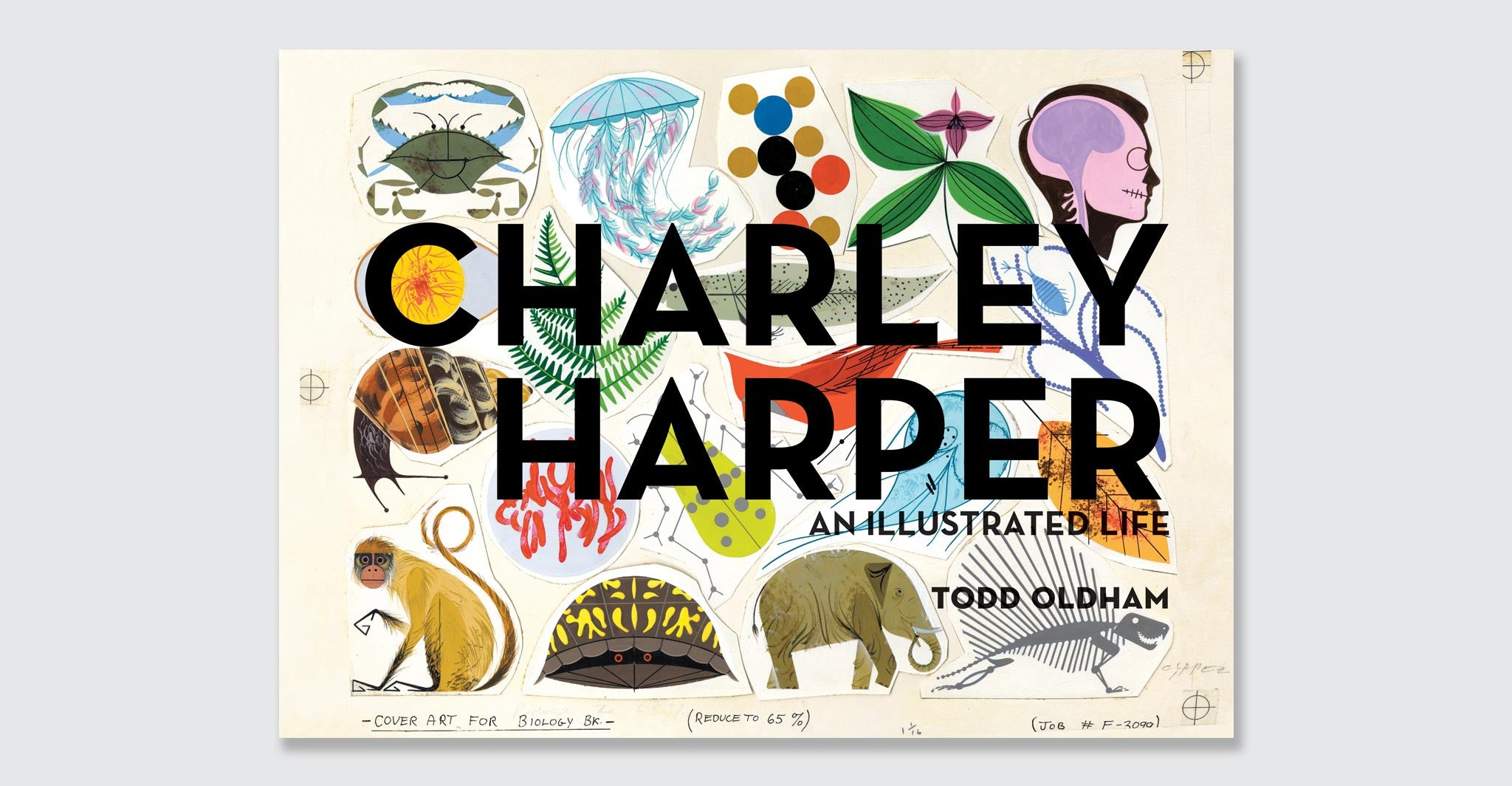 Illustrated Book Cover Version : Charley harper illustrated life jumbo hardcover edition by