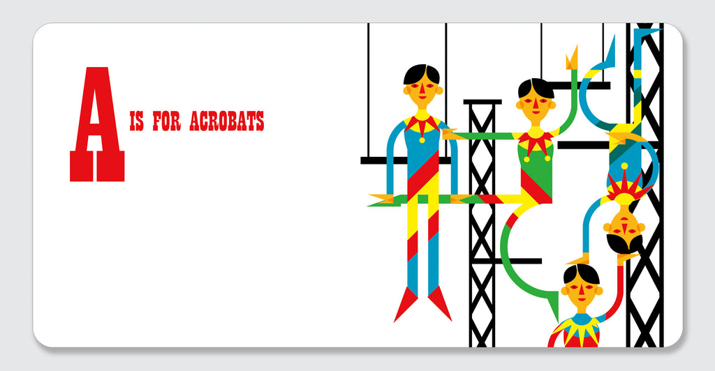 ABC is for Circus: Spread #2