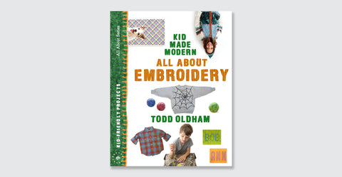 Kid Made Modern: All About Embroidery