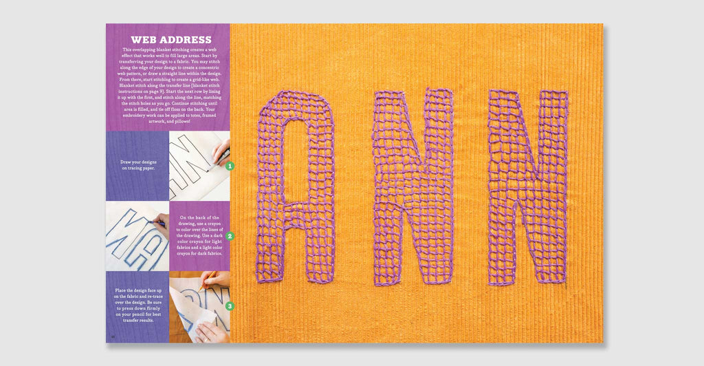 Kid Made Modern: All About Embroidery: Spread #3