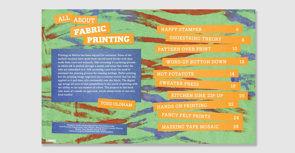 Kid Made Modern: All About Fabric Printing: Spread #2