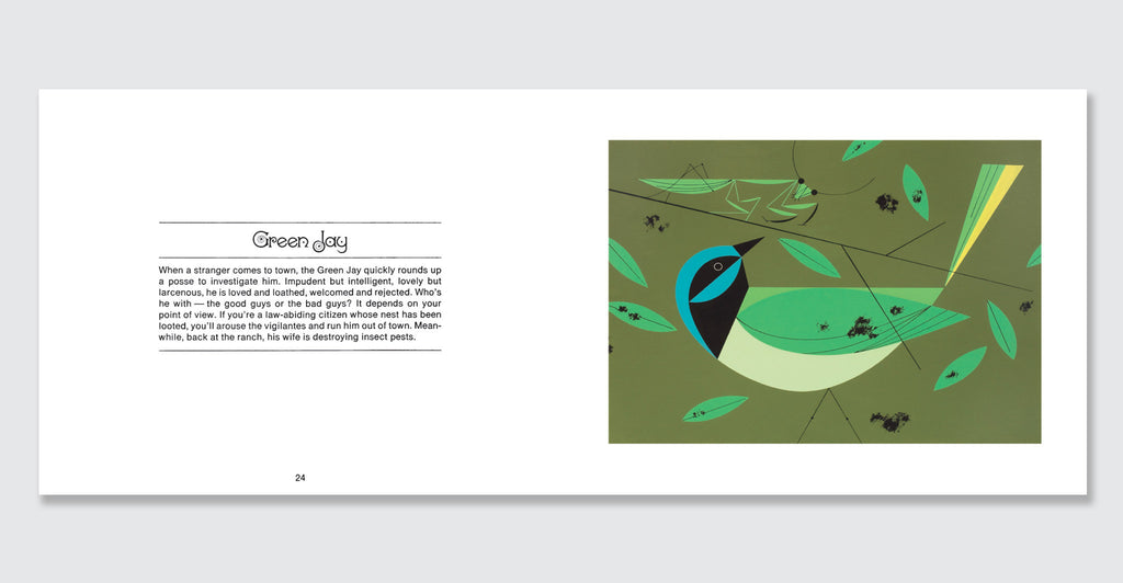 Charles Harper's Birds & Words Anniversary Edition: Spread #7