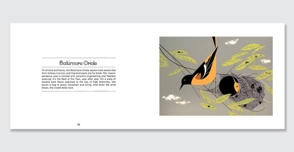Charles Harper's Birds & Words: Spread #6
