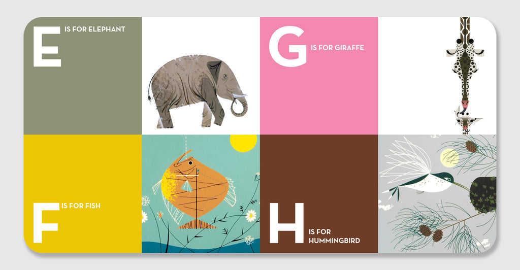 Charley Harper ABCs: Spread #3