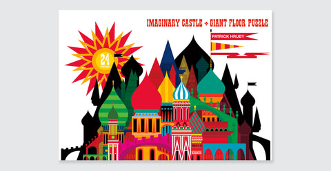 Imaginary Castle Giant Floor Puzzle