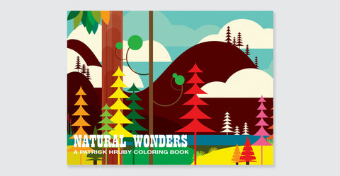 Natural Wonders: A Patrick Hruby Coloring Book