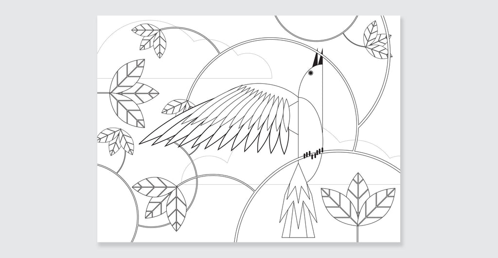 Natural Wonders: A Patrick Hruby Coloring Book: Spread #8