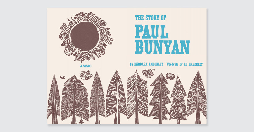 The Story of Paul Bunyan: Spread #2
