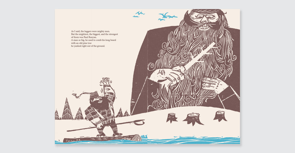 The Story of Paul Bunyan: Spread #3