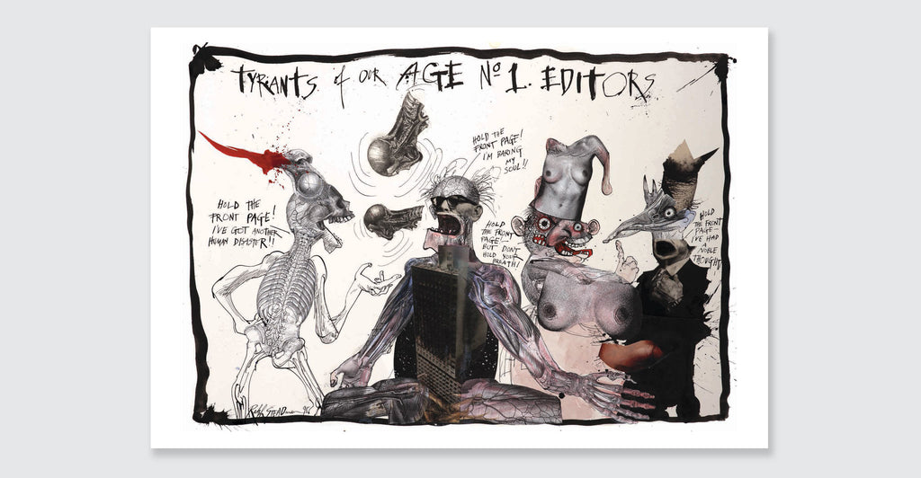 Ralph Steadman: Proud Too Be Weirrd: Spread #5