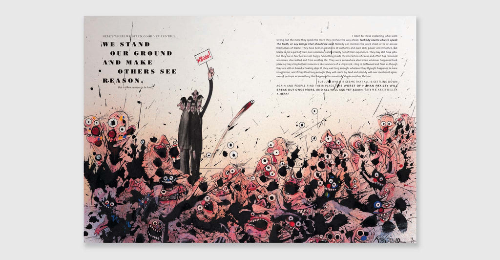 Ralph Steadman: Proud Too Be Weirrd: Spread #7