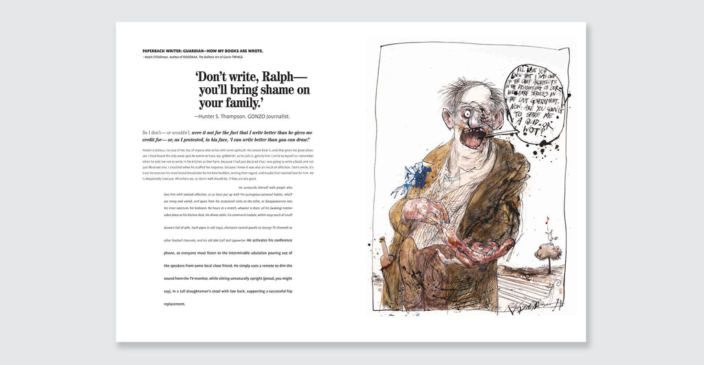 Ralph Steadman: Proud Too Be Weirrd: Spread #8
