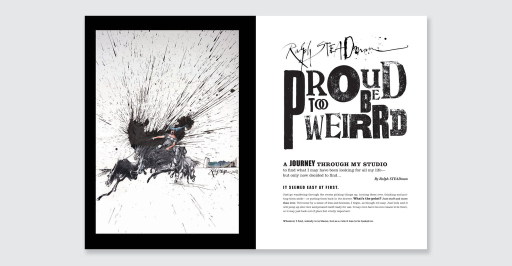 Ralph Steadman: Proud Too Be Weirrd: Spread #2