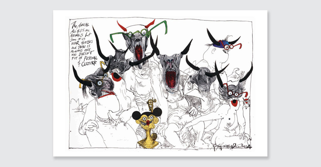 Ralph Steadman: Proud Too Be Weirrd: Spread #3
