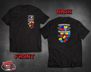 DRV- Racing for Autism team shirt 2019