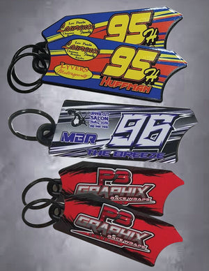 P3- Door replica key chain
