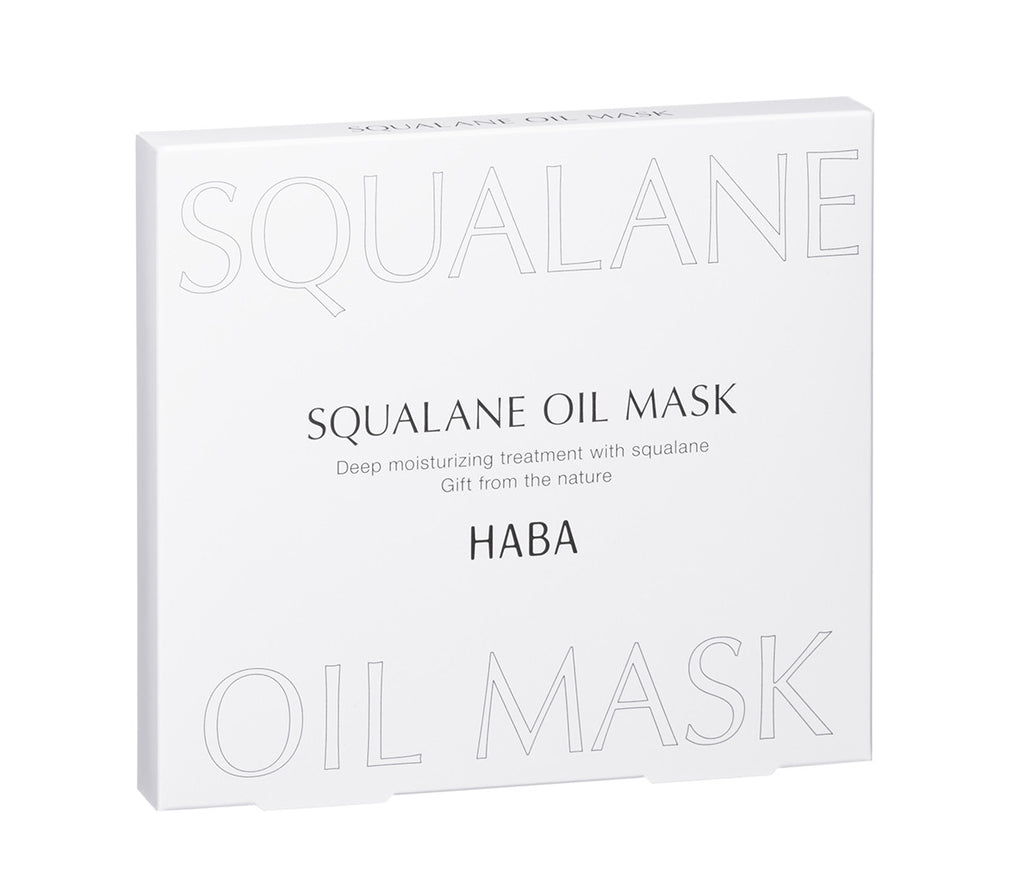 SQUALANE OIL MASK ( 5 sheets )
