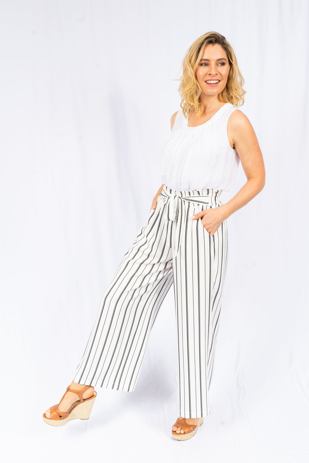 Pants 'Janni' - White