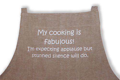 Apron - My Cooking is Fabulous
