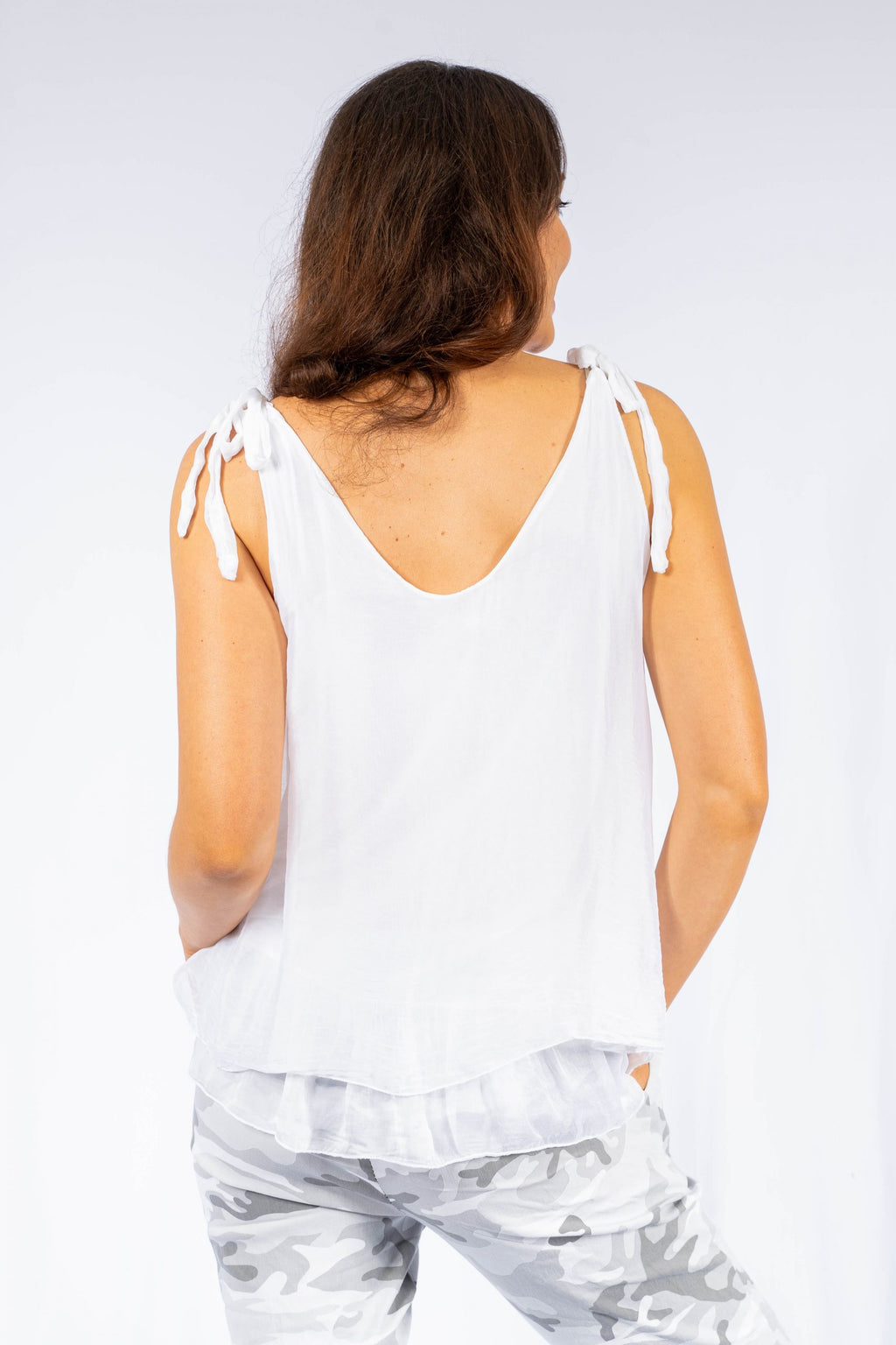 Blouse 'Claviere' - White