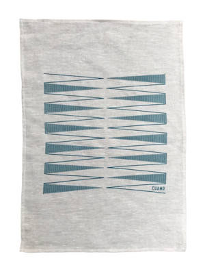 Tea towel - Backgammon Game