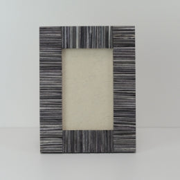 Photo Frame 6x4 Grey Stick Bone