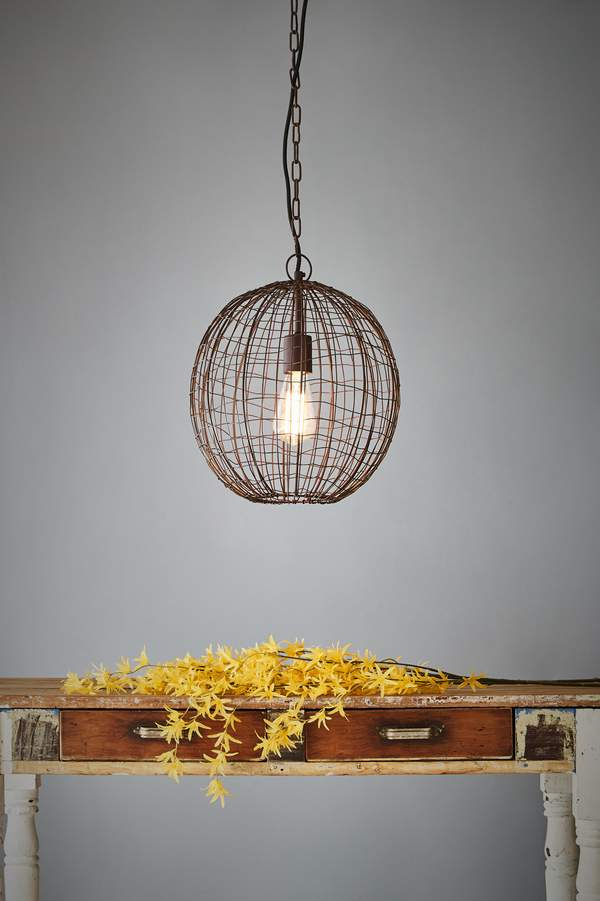 Pendant Light - Cray Ball Small