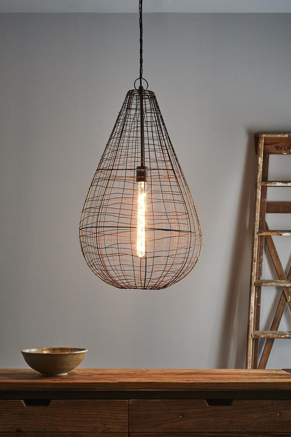 Pendant Light - Cray Pot Large