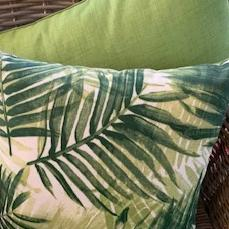 Cushion Outdoor 'Palm Areca'