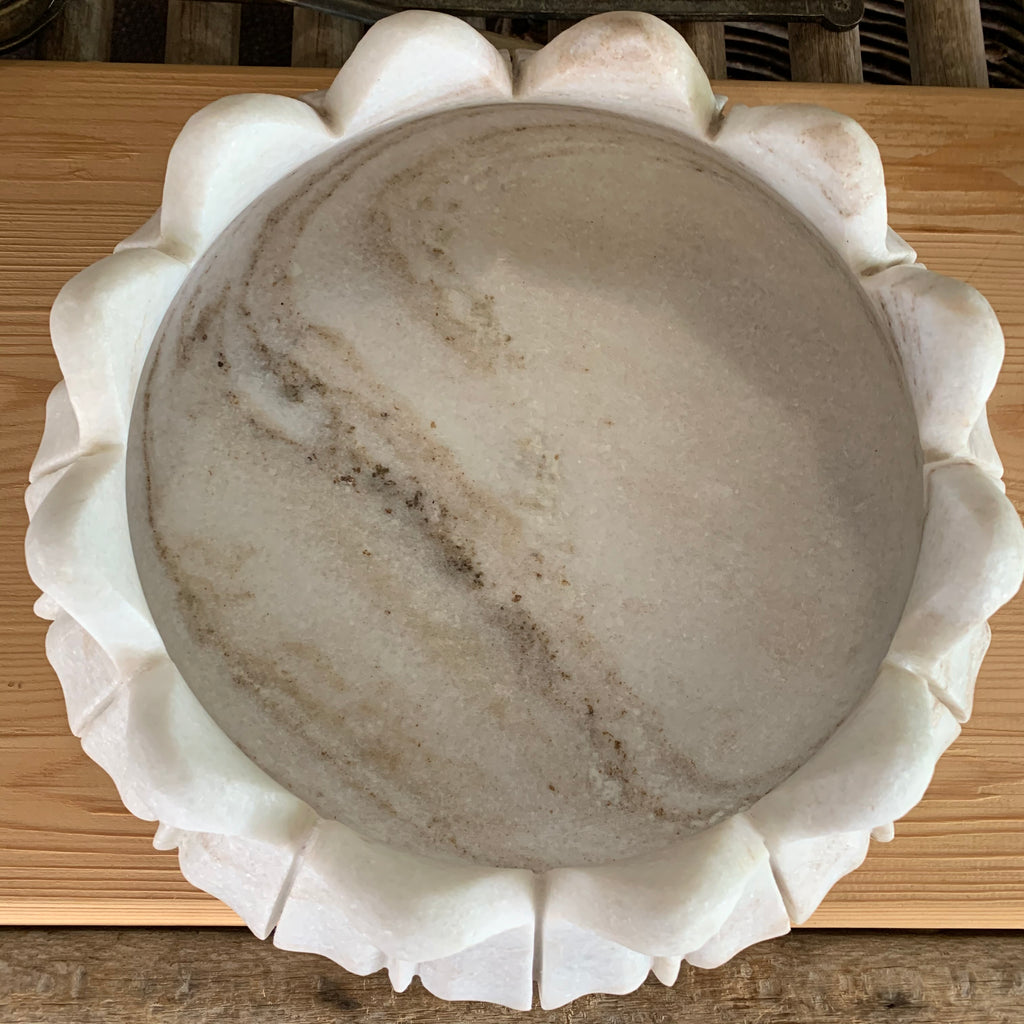 Lotus Bowl Large - Marble