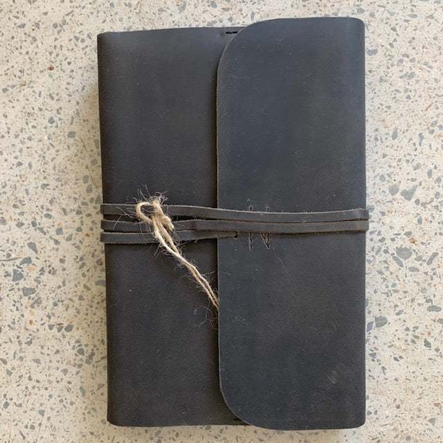 Journal Refillable Hardcover Leather