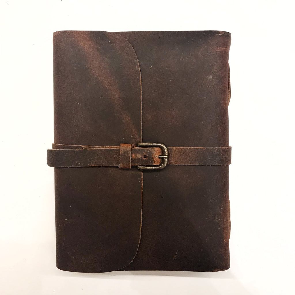 Journal 'Buckle' Leather A5
