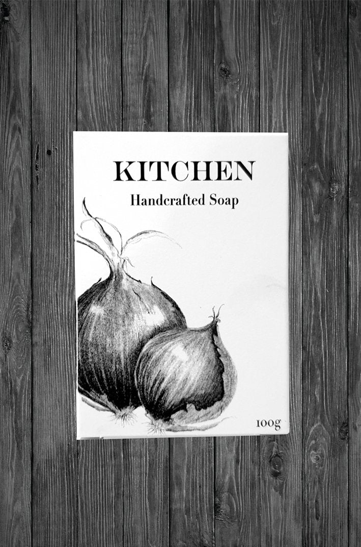 Soap 'Kitchen' Pencil Art