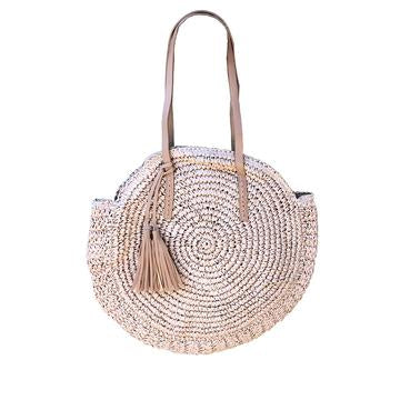 Bag Woven Raffia Natural - Rancho Designs
