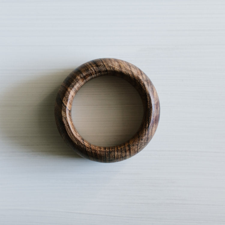 Bangle 'Natural Wood' - Large