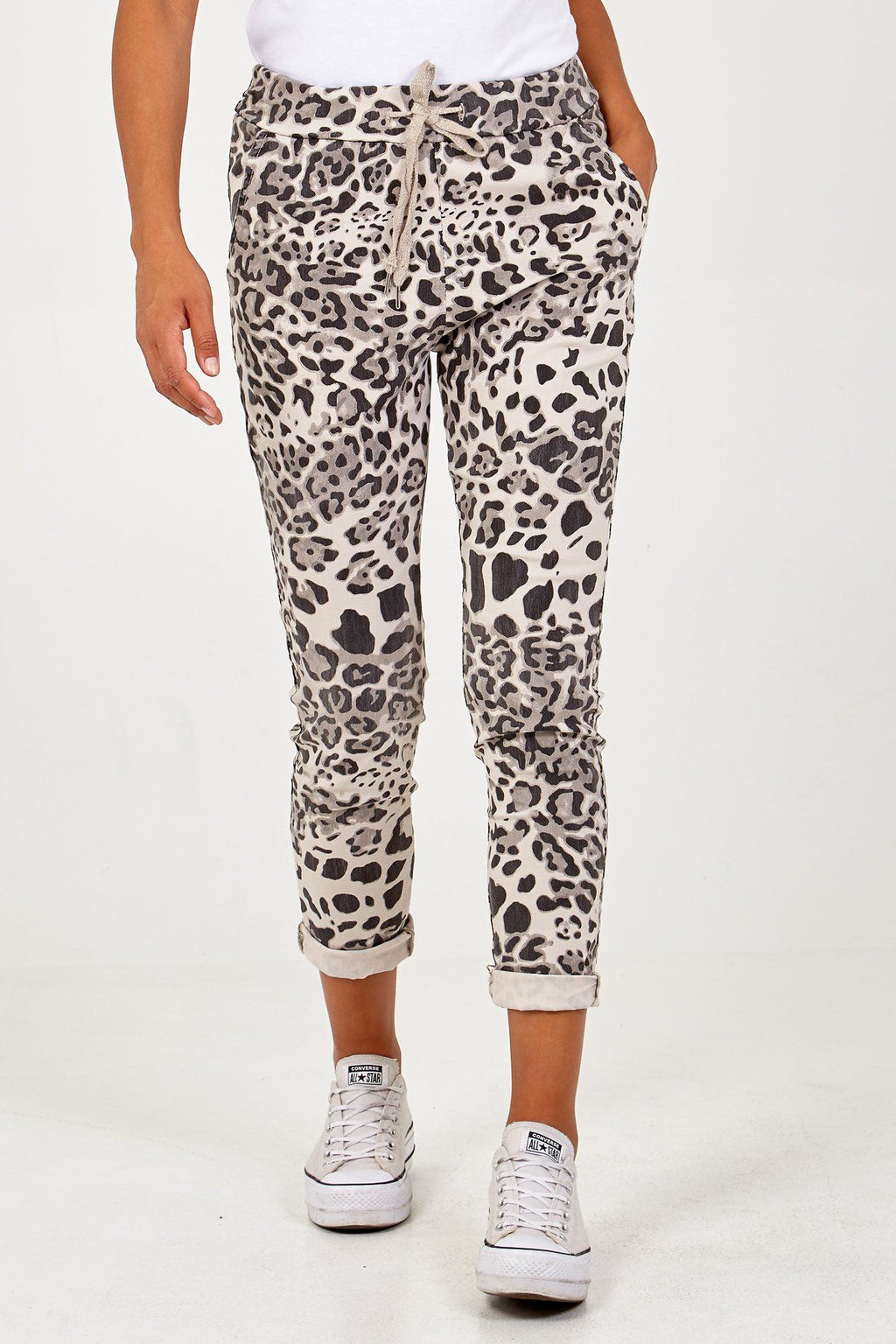 Pants 'Norcelli' - Leopard