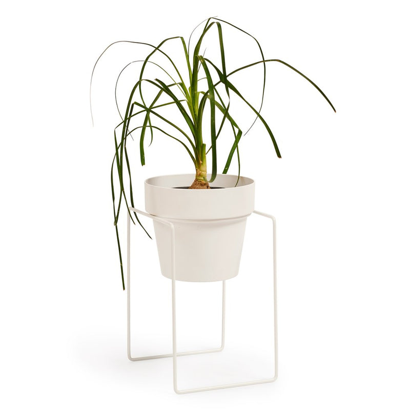 Pot Stand 'Shrub' White