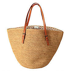 Bag 'Marbella' Natural - Le Panier