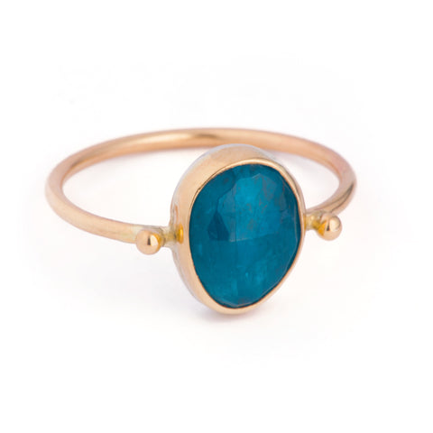 Bahia Freeform Ring - Apatite