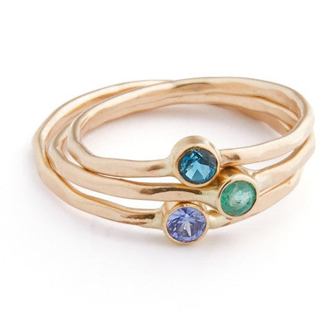Tortuga Stacking Ring