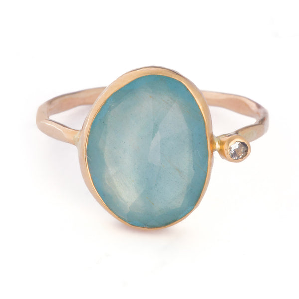 Minera - Aquamarine Ring