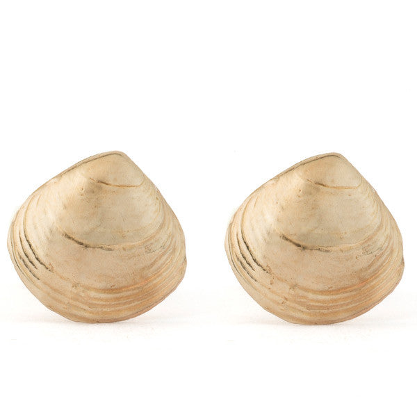 Tideline Studs - Clam Shell