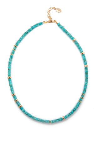 Load image into Gallery viewer, Baths Turquoise Choker