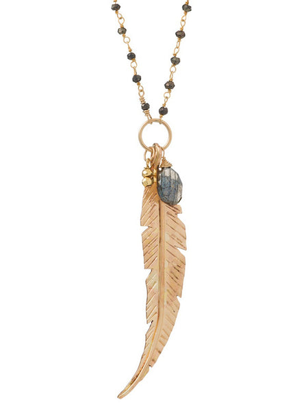 Ibis Feather Charm