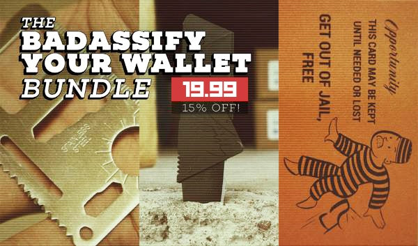 Badassify Your Wallet Bundle! (Ships in 3-5 Days)