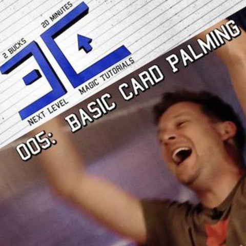 Extra Credit 005: Basic Card Palming